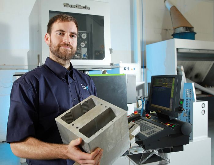 Sodick technology installed at Laser Proto with Wilson McKay, Additive Manufacturing Application Engineer