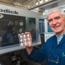 Components machined on Sodick machine installed at St Andrews University